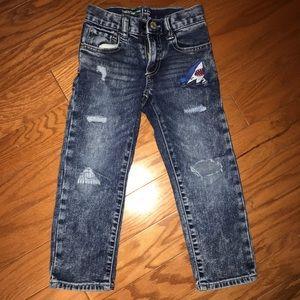 Baby gap toddler boy slim jeans size 4t